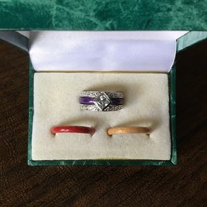 Sterling Silver Ring With With CZ